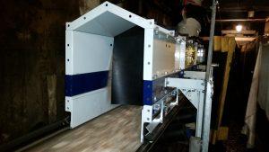 High speed pulp transfer belt.