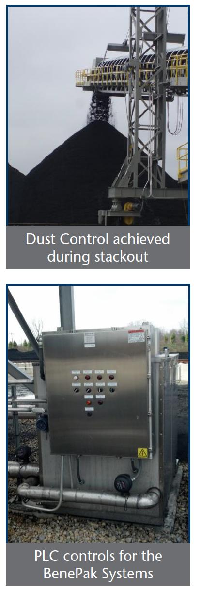 Benepak Systems for Dust Control