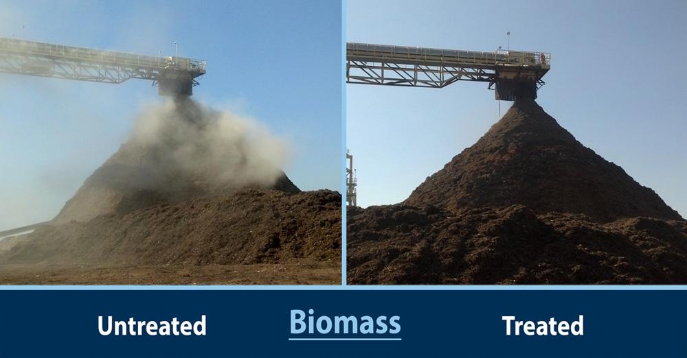 dust suppression biomass